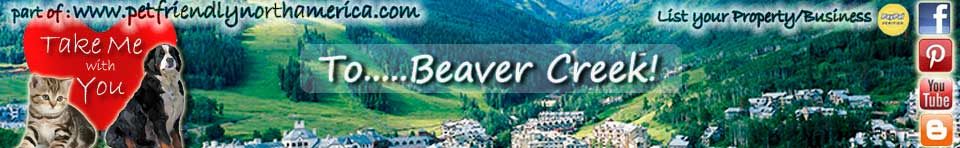 pet friendly beaver creek
